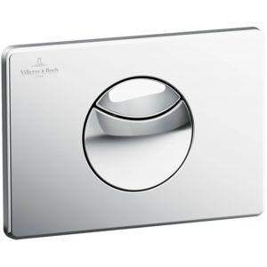 Villeroy & Boch ViConnect WC-Bedieningsplaat 20,5x14,5 cm Chroom