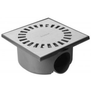 Easy Drain Aqua Compact Doucheput met waterslot 50 mm 15x15 cm RVS