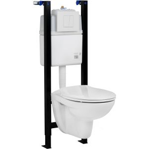 Saniselect Toiletpack Wit