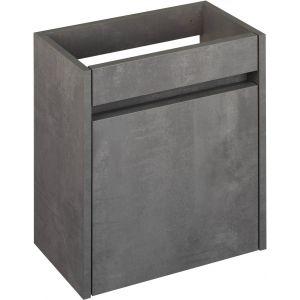 Saniselect Sana Fonteinonderkast 40x21,8x50 cm Beton Grijs