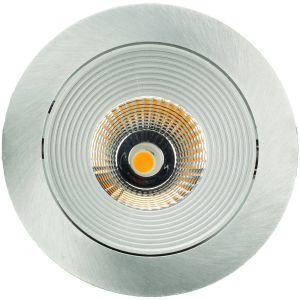 Luxalon Spot LED rond incl. driver alu mat