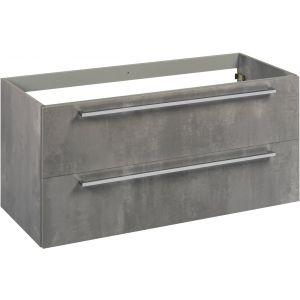 Saniselect Kreo Onderkast 120x50,5x60 cm Beton Grijs