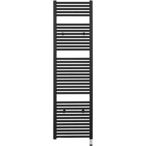 Ben Kos Designradiator 50x177,5 cm Grafiet Zwart