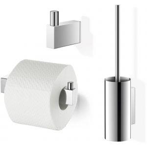 ZACK Linea toilet accessoireset 3-in-1 RVS Glans