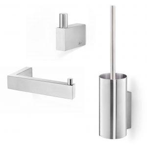 ZACK Linea toilet accessoireset 3-in-1 RVS
