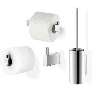ZACK Linea toilet accessoireset 4-in-1 RVS Glans