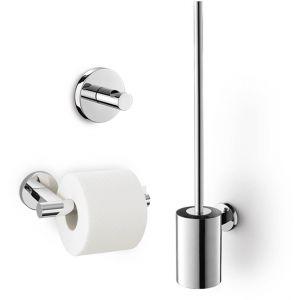 ZACK Scala toilet accessoireset 3-in-1 RVS glans