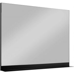 Ben Fossano Spiegelpaneel 120x75 cm met Planchet 5 cm diep Mat Zwart