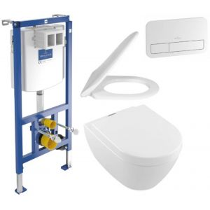 Villeroy & Boch Subway 2.0 Vifresh Viconnect toiletset wit