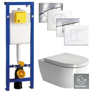 Ben Segno Free Flush Wandcloset Set
