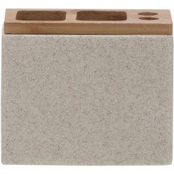 Sealskin GRACE Tandenborstelhouder (tbv electrische tandenborstel) 12x6x10 cm polyresin zand