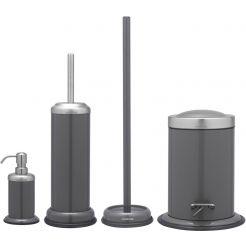 Sealskin Acero accessoireset 4-in-1 grijs