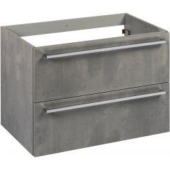 Saniselect Kreo Onderkast 80x50,5x60 cm Beton Grijs