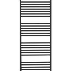 Saniselect Moulin Designradiatoren Recht 50x131,2 cm Zwart