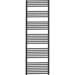 Saniselect Moulin Designradiatoren Recht 50x189,7 cm Zwart