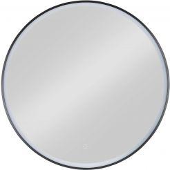 Ben Circulo Ronde Spiegel LED Ø 100 cm Mat Zwart