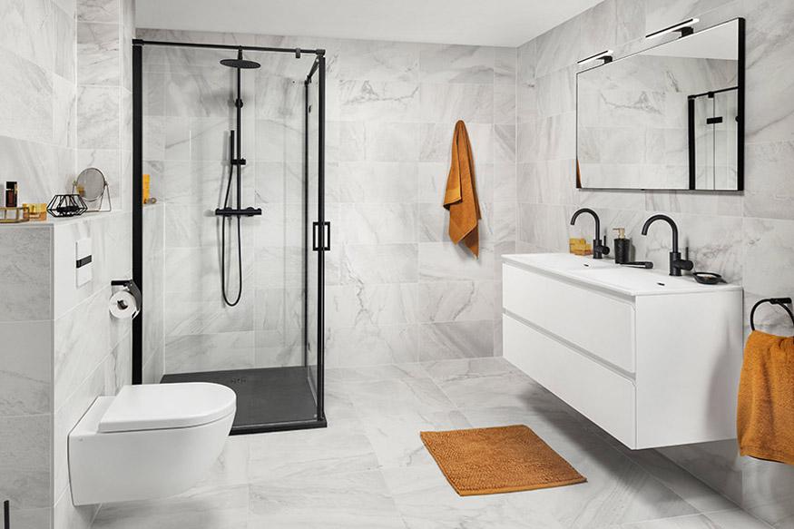 De luxe en moderne badkamer
