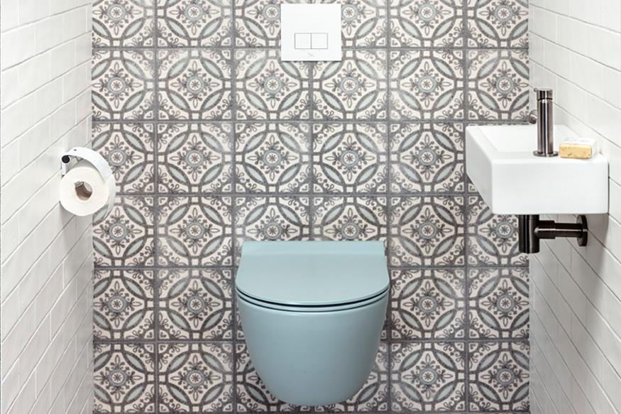 Trend: Portugese tegels in sanitaire ruimtes