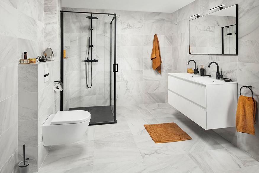 Bepaal jouw badkamerstijl