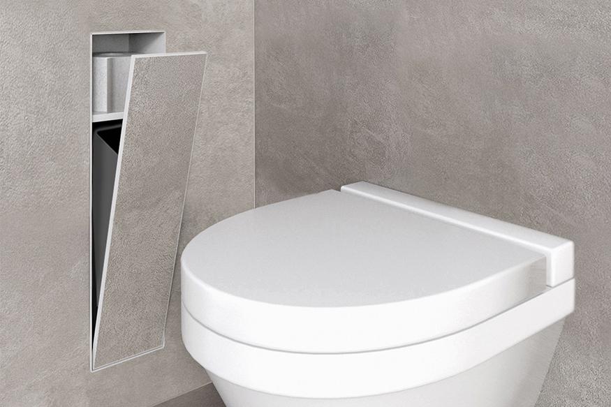 Inbouw toiletaccessoires uitgelicht