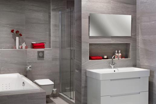Complete badkamers: een eigen mini-kuuroord