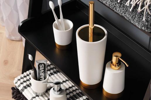 De gouden badkamer: exclusief en uniek