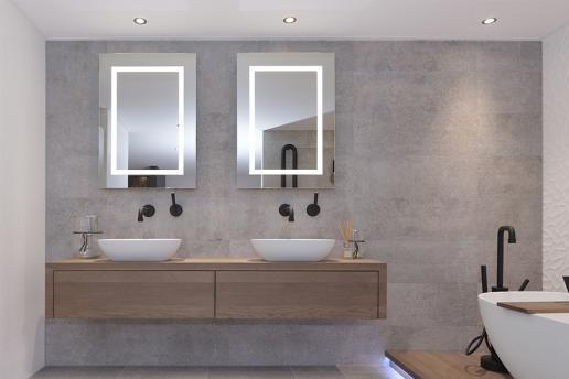 Zet je badkamer in het juiste licht met badkamerspotjes