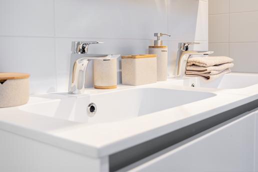 De witte badkamer: tijdloos en fris