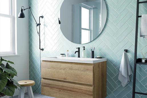 Kleurgebruik in de badkamer: 5 voorbeelden