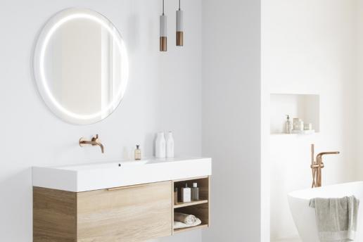 Luxe spiegels voor de badkamer