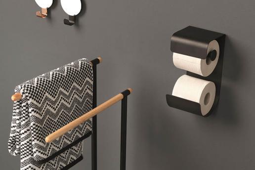 Zwarte badkameraccessoires: modern en trendy