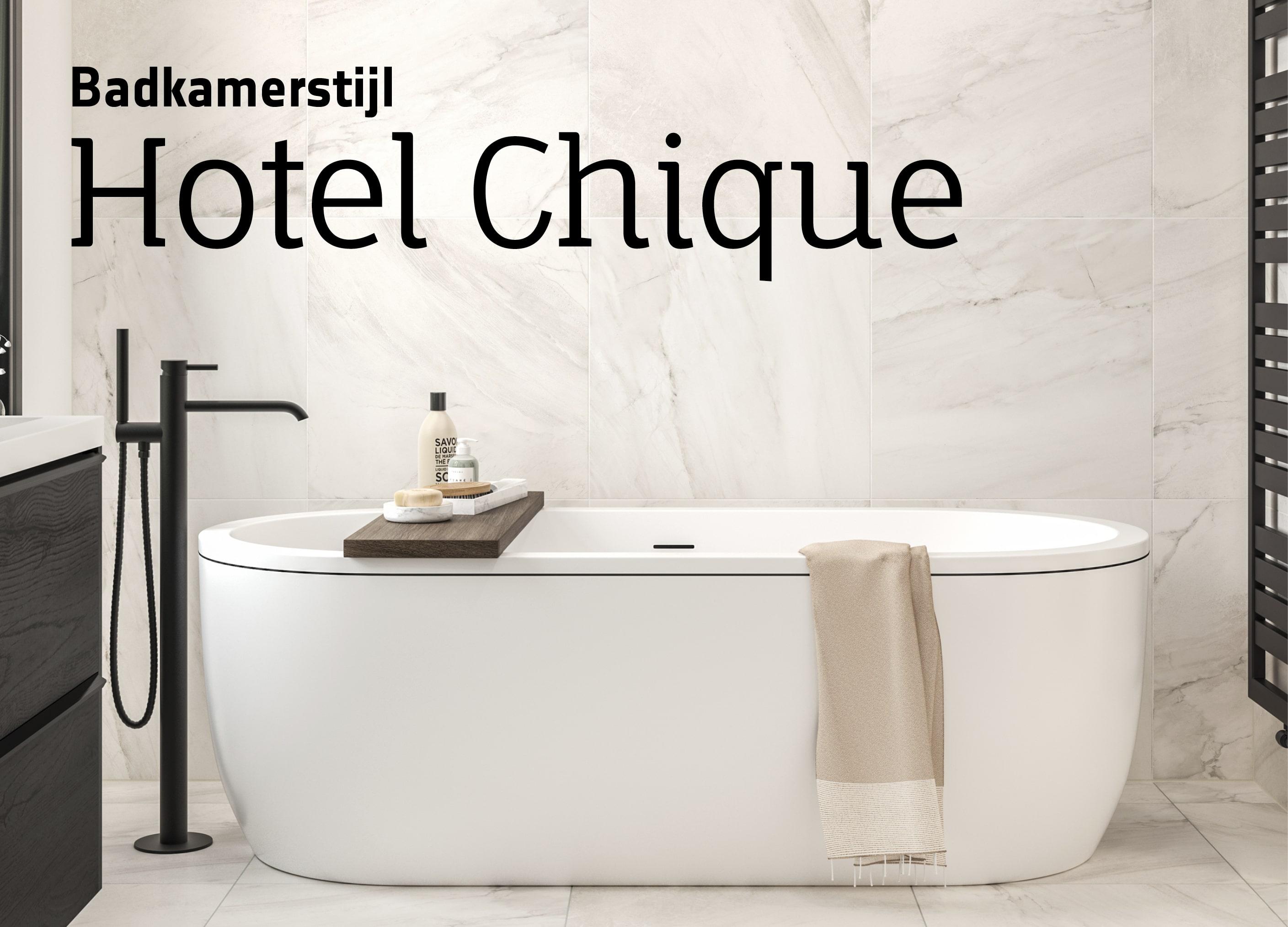 Badkamer Hotel Chique