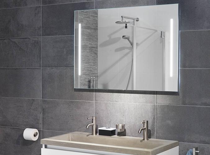 Spiegel Met Deurtjes : Badkamerspiegels bekijk hier ons aanbod prachtige badkamerspiegels