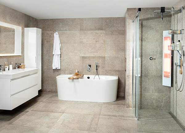 badkamer indeling Corda