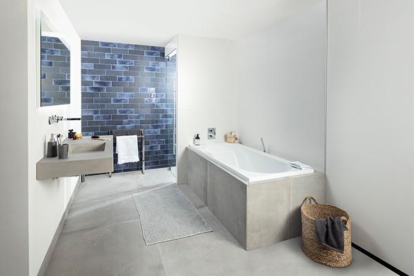 kleurgebruik badkamer titan