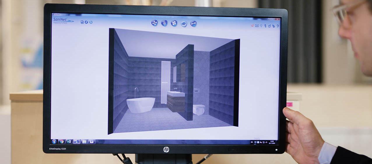 Badkamer ontwerpen met 3d planner