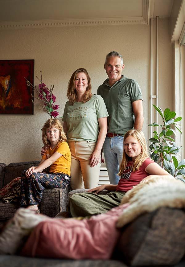 Henry, Silvie en hun kinderen