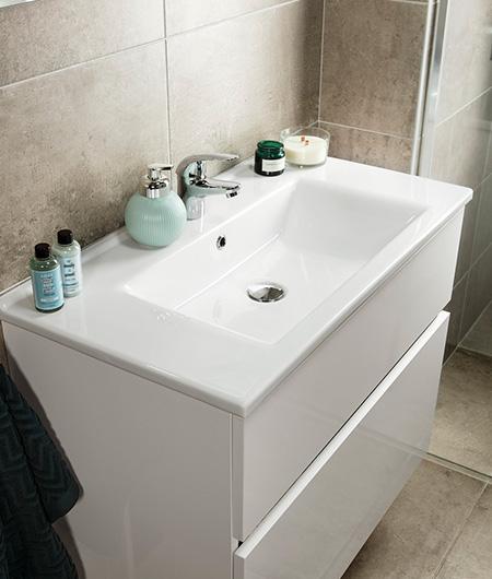 hoogglans badkamermeubel