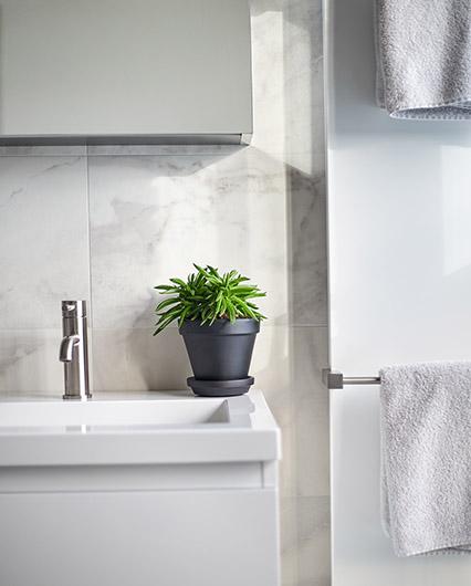 marmer tegels badkamer