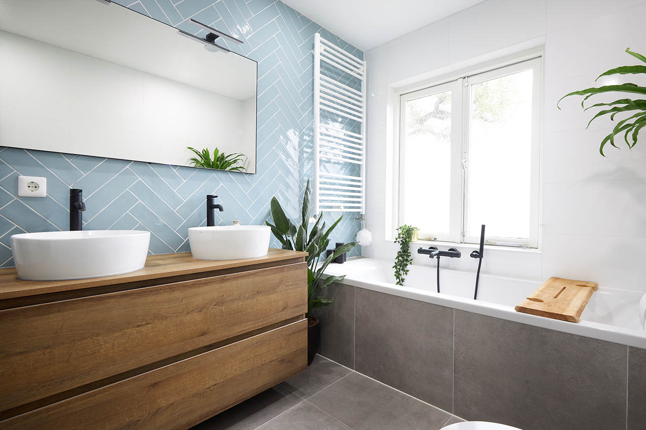 Scandinavische badkamer