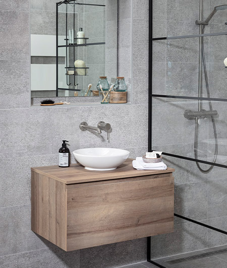klein badkamermeubel